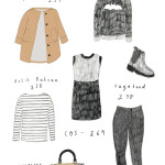 Winter clothes wishlist, illustrated! ASOS, Zoe Karssen, Vagabond & more.