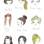 Hairstyles illustration for Boden – Johnnie B